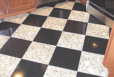 Professional granite floor cleaning