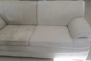 A professional sofa cleaning service in Manchester