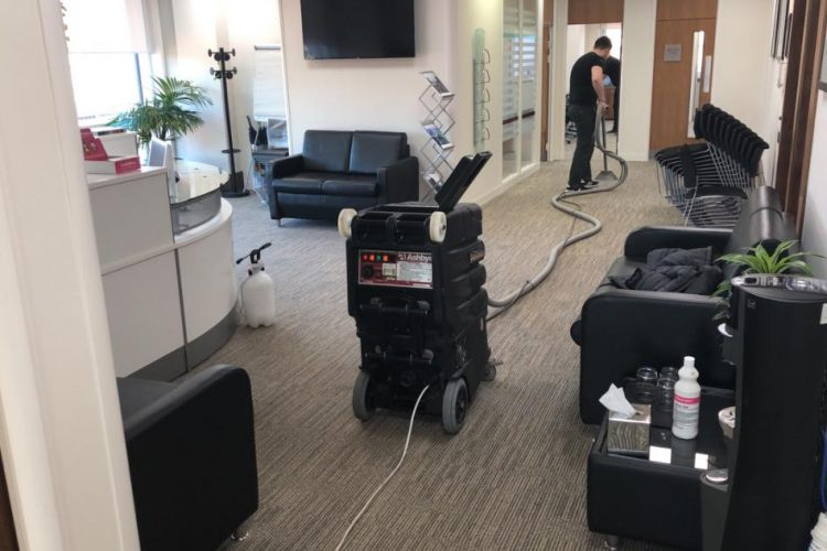 cleaning office carpet in leeds