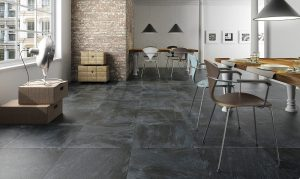 Slate floor cleaning by professionals in Manchester